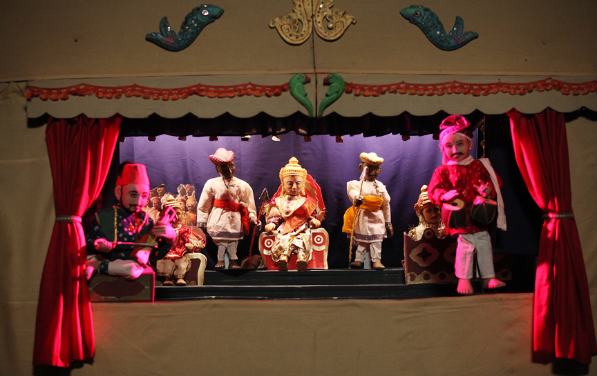 Indian Traditional Puppets
